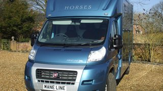 Maneline Fibreglass Horse Box Conversion